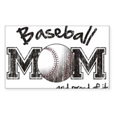 Baseball Mom...and proud of it Decal