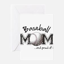 Funny Vintage baseball Greeting Card
