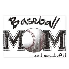Unique Sports mom Postcards (Package of 8)