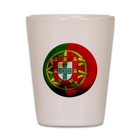 Portugal World Cup Shot Glass