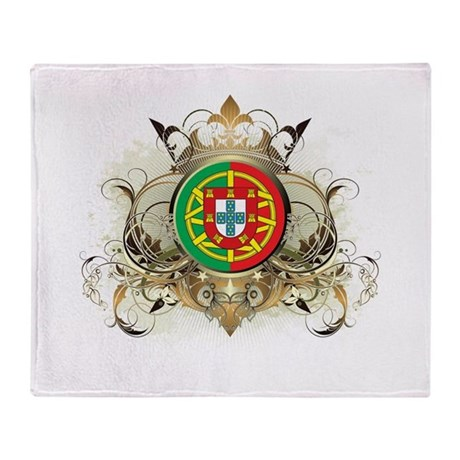 Stylish Portugal Throw Blanket