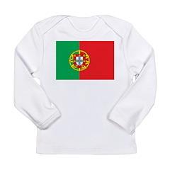 Portugal Flag Long Sleeve Infant T-Shirt