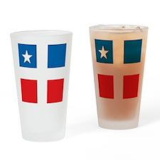 Lares Revolutionary Flag Drinking Glass