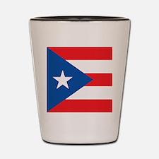Puerto Rico Shot Glass