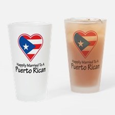 Happily Married Puerto Rican Pint Glass