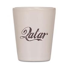 Vintage Qatar Shot Glass