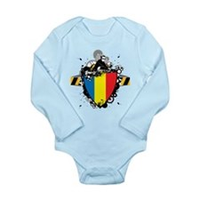 Hip Romania Long Sleeve Infant Bodysuit
