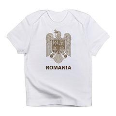Vintage Romania Infant T-Shirt
