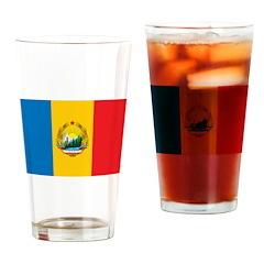 Romania Flag 1965 Pint Glass