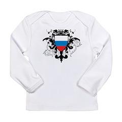 Stylish Russia Long Sleeve Infant T-Shirt