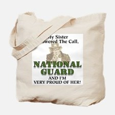National Guard Sister Tote Bag