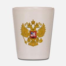 Russia 2 Headed Eagle Shot Glass
