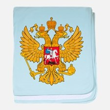 Russia 2 Headed Eagle baby blanket