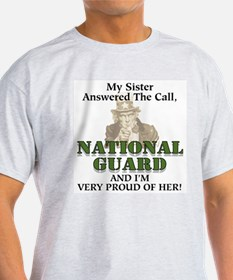 National Guard Sister Ash Grey T-Shirt