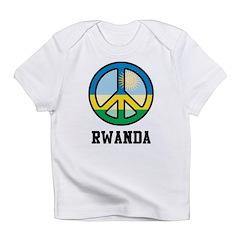 Peace In Rwanda Infant T-Shirt
