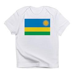 Rwanda Flag Infant T-Shirt