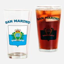 Stylish San Marino Pint Glass