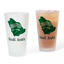 Map Of Saudi Arabia Pint Glass