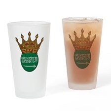 King Of Saudi Arabia Pint Glass