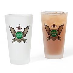 Saudi Arabia Emblem Pint Glass