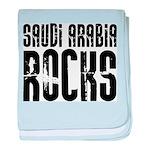 Saudi Arabia Rocks baby blanket