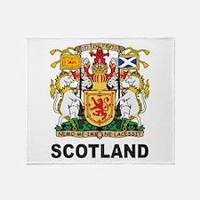 Scotland Throw Blanket