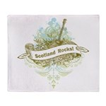 Scotland Rocks Throw Blanket