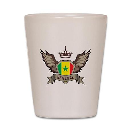 Senegal Emblem Shot Glass