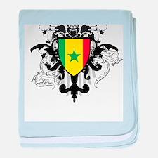 Stylish Senegal baby blanket