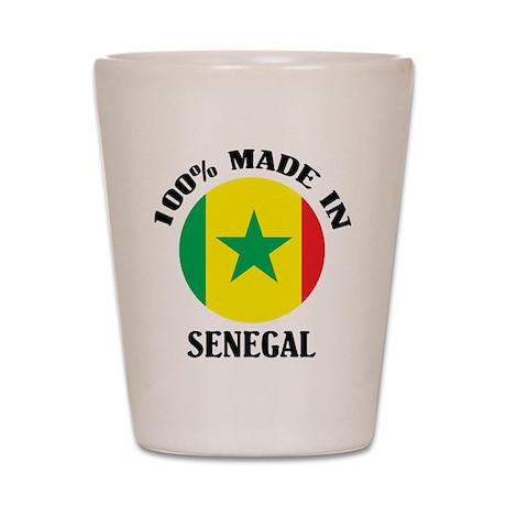 Made In Senegal Shot Glass