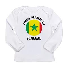 Made In Senegal Long Sleeve Infant T-Shirt