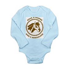 Ride A Senegalese Long Sleeve Infant Bodysuit