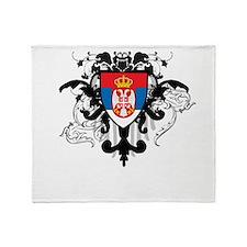 Stylish Serbia Throw Blanket