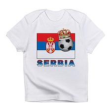 Serbia Football Infant T-Shirt