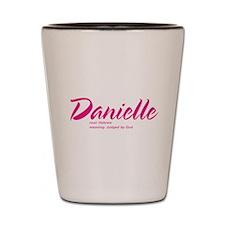 Personalized Danielle Shot Glass