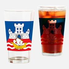 Beograd Flag Pint Glass