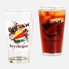 Butterfly Seychelles Pint Glass