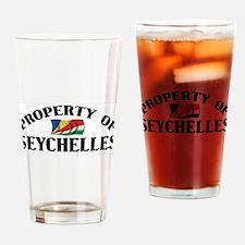 Property Of Seychelles Pint Glass