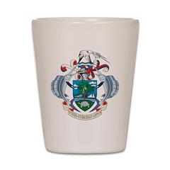 Seychelles Coat Of Arms Shot Glass