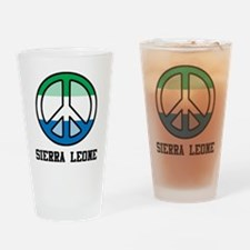 Peace In Sierra Leone Pint Glass