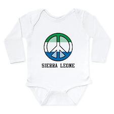 Peace In Sierra Leone Onesie Romper Suit
