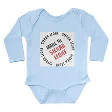 Made In Sierra Leone Onesie Romper Suit
