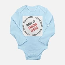 Made In Sierra Leone Onesie Romper Suit