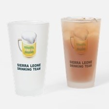 Sierra Leone Drinking Team Pint Glass