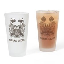 Vintage Sierra Leone Pint Glass