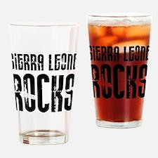 Sierra Leone Rocks Pint Glass
