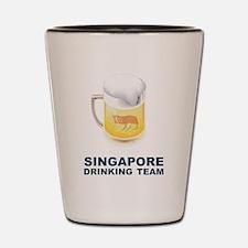 Singapore Drinking Team Shot Glass