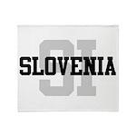 SI Slovenia Throw Blanket