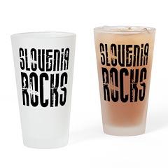 Slovenia Rocks Pint Glass