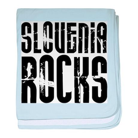 Slovenia Rocks baby blanket